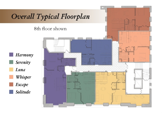 LUX Floorplans