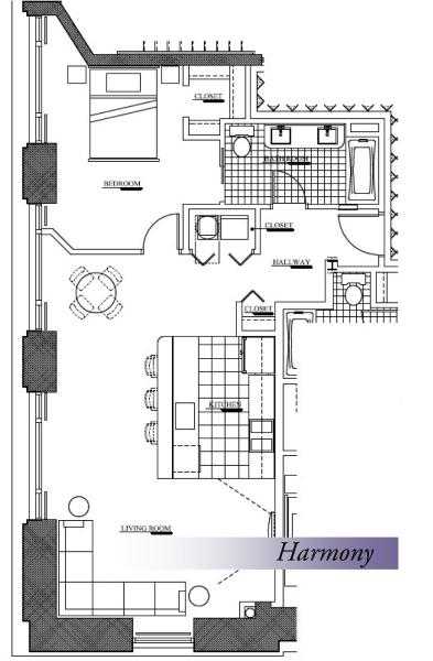 Harmony Floorplan